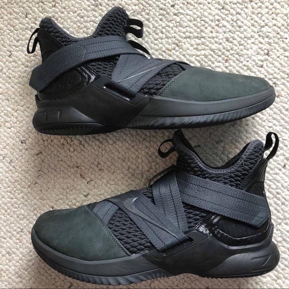 "online retailer 6f1aa ce889 Men's nike lebron soldier 12 ""Dark 23"" size 9.5"